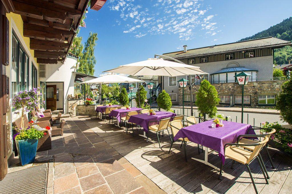 Apart-Hotel Panorama in Flachau, Salzburger Land - Sommerurlaub & Winterurlaub in Flachau, Ski amadé – Sonnenterrasse