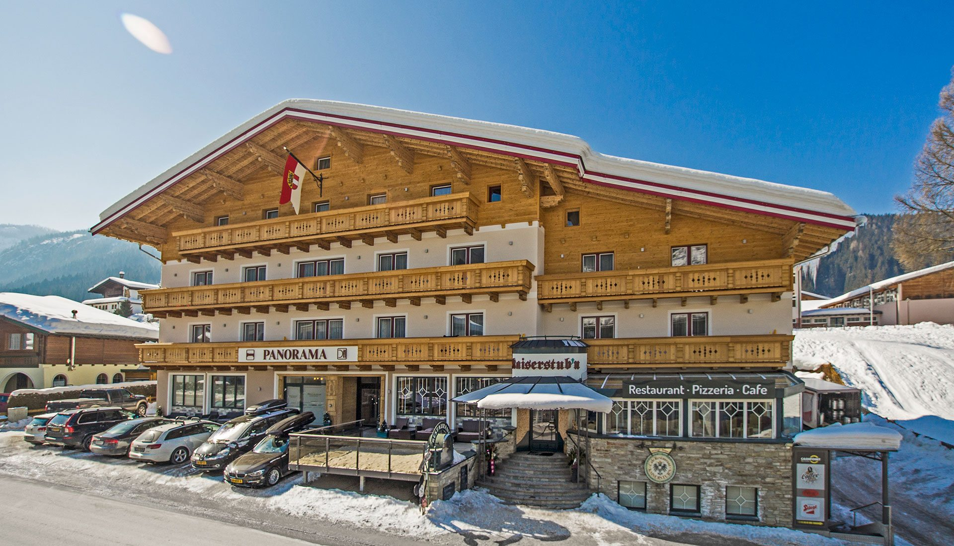 Apart-Hotel Panorama in Flachau, Salzburger Land, Ski amadé