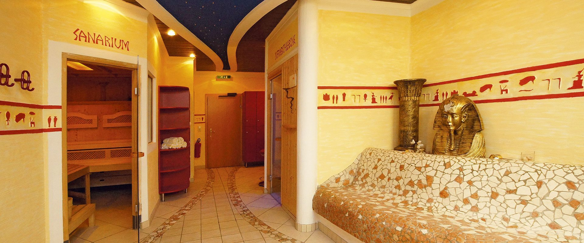 Wellnessoase im Apart-Hotel Panorama in Flachau